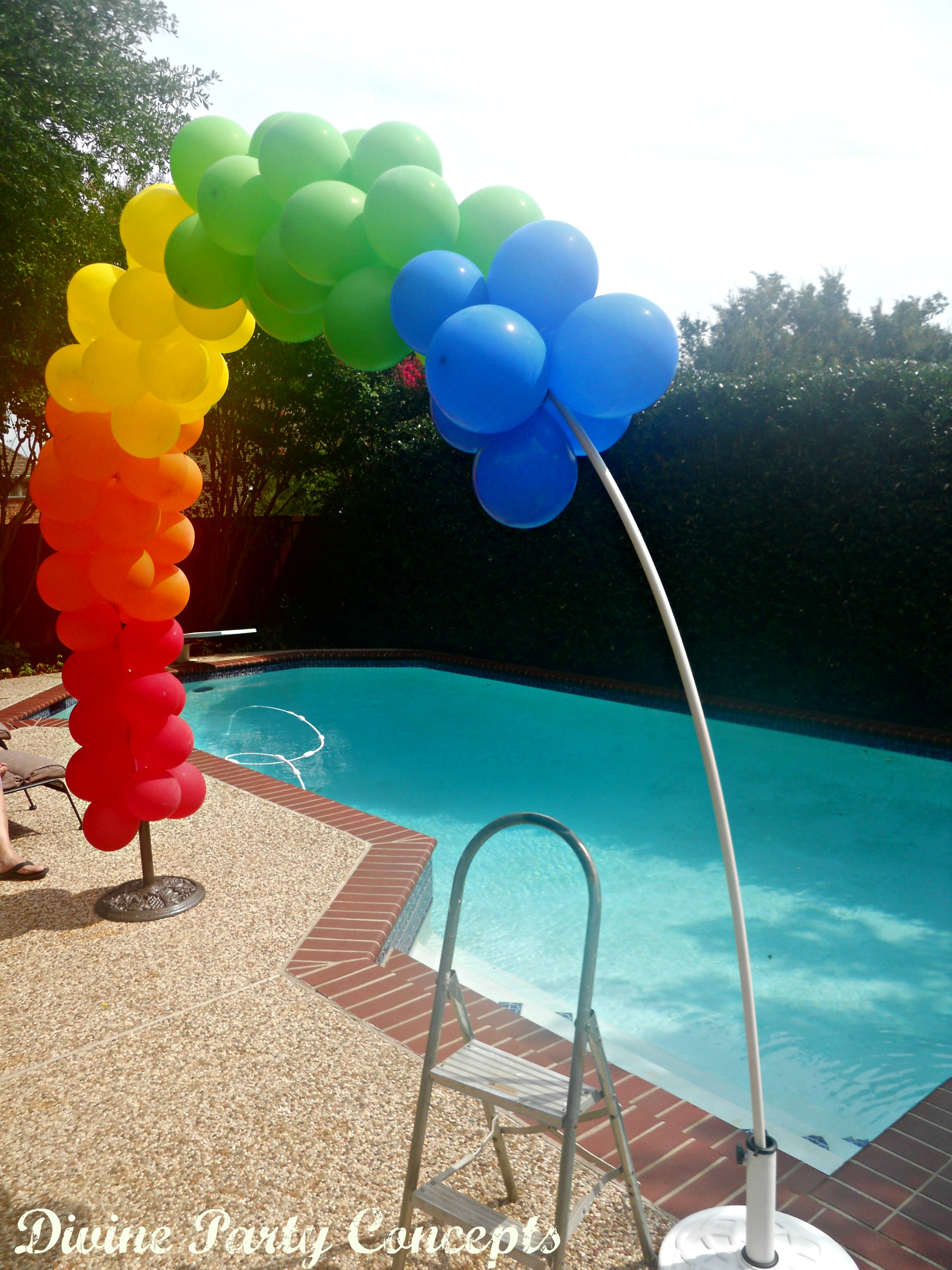 How to make a balloon arch for Balloon decoration making
