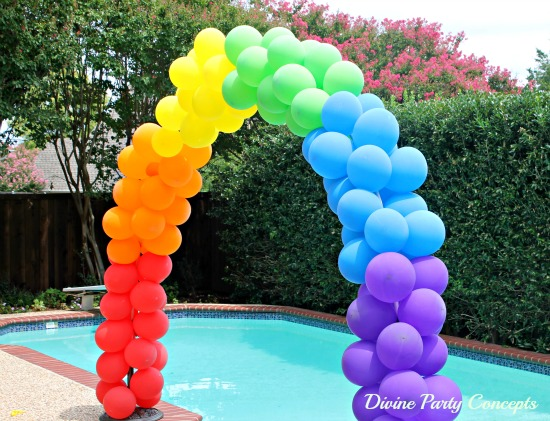 How to make a balloon arch for Balloon decoration instructions