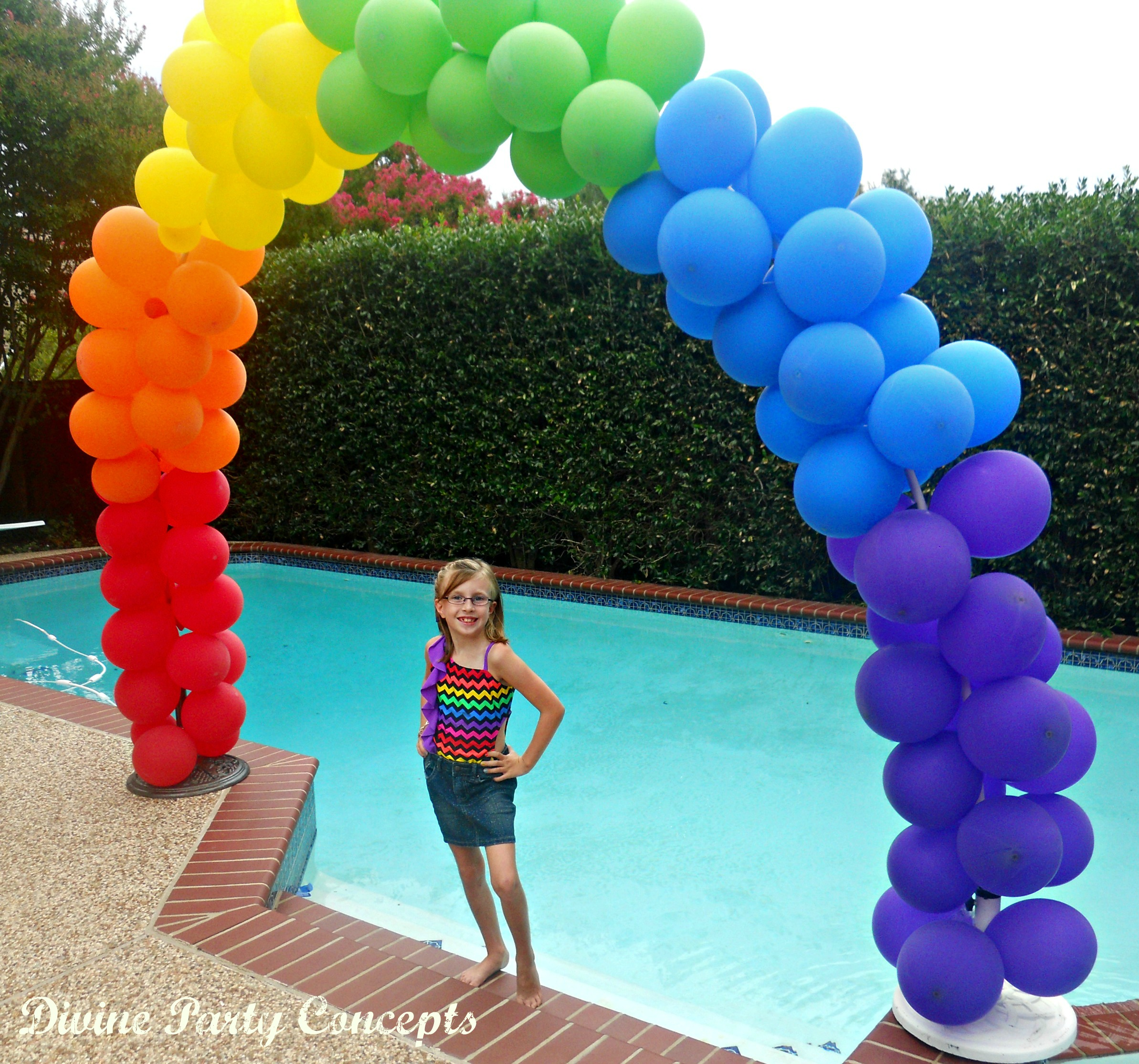 How to make a balloon arch for Balloon decoration how to make