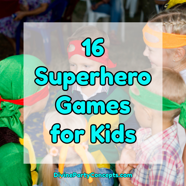 Superhero Games for Kids