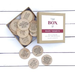 Date Night Ideas Gift by Sweet Bella Stationery