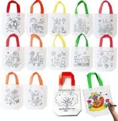 Sandflower Eco Reusable Coloring Carnival Animal Art Party Goodie Bags
