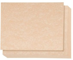 Vintage Parchment Stationery Paper for Writing Letters, Sepia