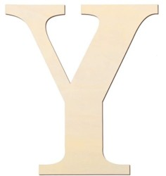 12 Inch Unfinished Wooden Letters Wood Letters Sign Decoration Wooden Decoration