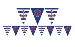Amscan Anchors Aweigh Party Pennant Banner, 12  x 10
